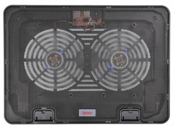 """цена на Подставка для ноутбука 15.6"""" Buro BU-LCP156-B214H металл/пластик 1400об/мин 21db черный"""