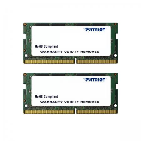 Оперативная память для ноутбуков SO-DDR4 32Gb (2x16Gb) PC4-17000 2133MHz DDR4 DIMM Patriot PSD432G2133SK