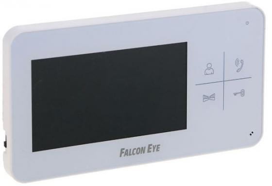 Видеодомофон Falcon Eye FE-40C цветной TFT LCD 4.3 белый цена
