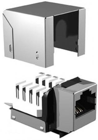 Модуль информационный Brand-Rex FTP GPCJAKF012 Keystone RJ45 кат.5e черный цены онлайн