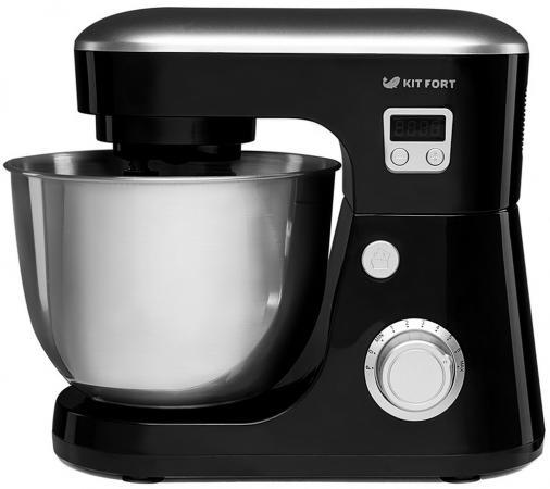 Миксер стационарный KITFORT KT-1308-3 600 Вт черный кофеварка kitfort kt 702 1100 вт черный