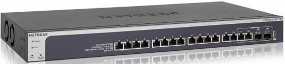 Коммутатор NetGear XS716T-100NES управляемый 16 портов 10/100/1000/10000Mbps сетевой накопитель nas netgear rn42400 100nes rn42400 100nes