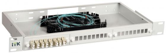 Патч-панель ITK FOBX24-1U-24LCUD03 1U патч панель lanmaster twt pp24utp 19 1u