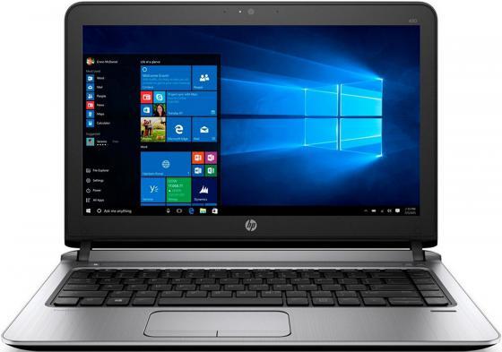 Ноутбук HP ProBook 430 G3 13.3 1366x768 Intel Core i5-6200U 500 Gb 4Gb Intel HD Graphics 520 черный DOS W4N85EA ноутбук hp 15 bs027ur 1zj93ea core i3 6006u 4gb 500gb 15 6 dvd dos black