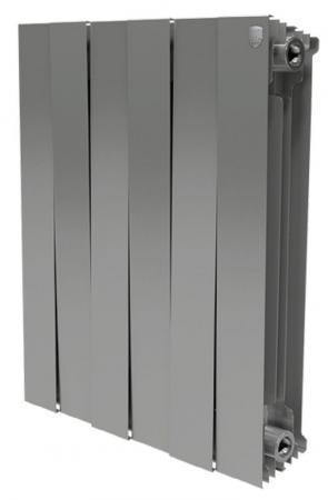 Купить со скидкой Радиатор Royal Thermo PianoForte 500/Silver Satin 10 секций