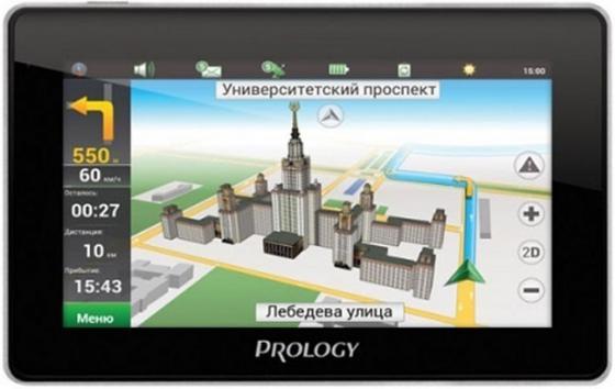 Навигатор Prology iMAP-4800 Навител 4.3 480х272 microSD черный навигатор prology imap 5700 навител 5 480x272 microsd черный
