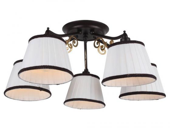 Потолочная люстра Arte Lamp Capri A6344PL-5BR ювелирное изделие 6344