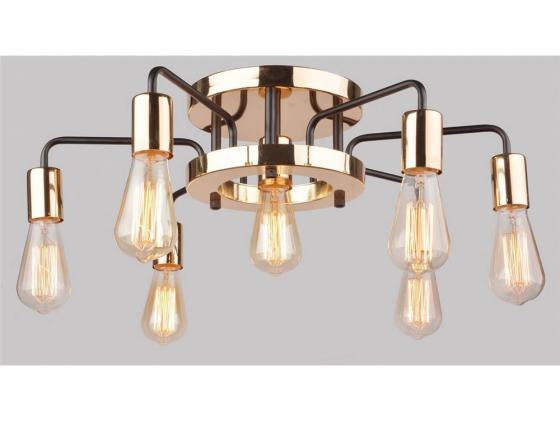 Потолочная люстра Arte Lamp Gelo A6001PL-7BK  подвесная люстра arte lamp gelo a6001lm 9bk