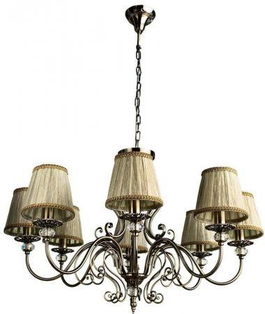 Подвесная люстра Arte Lamp Charm A2083LM-8AB arte lamp подвесная люстра arte lamp charm a2083lm 8ab