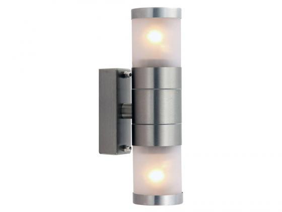Уличный настенный светильник Arte Lamp 67 A3201AL-2SS светильник на штанге arte lamp rapido a3201al 2ss