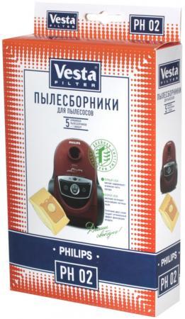 Комплект пылесборников Vesta PH 02 5шт + фильтр цена