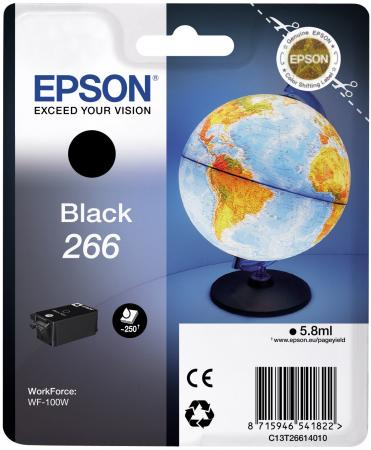 Картридж Epson C13T26614010 для Epson WF-100 черный картридж epson t009402 для epson st photo 900 1270 1290 color 2 pack