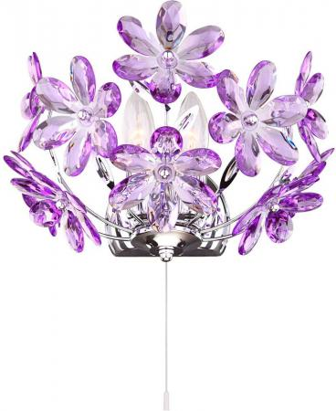 Бра Globo Purple 5142-2W люстра потолочная globo purple 5142