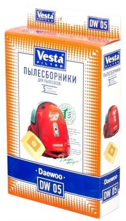 Комплект пылесборников Vesta DW 05 5шт комплект пылесборников vesta sm 09 5шт