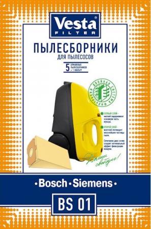 Комплект пылесборников Vesta BS 01 5шт цена 2017