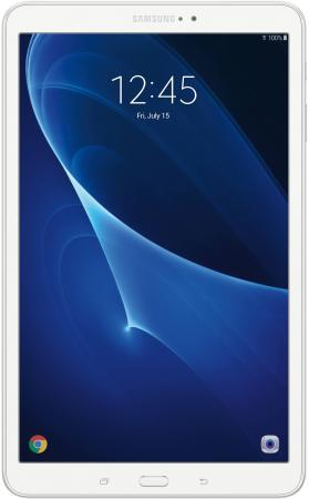 Планшет Samsung Galaxy Tab A 10.1 16Gb белый Wi-Fi Bluetooth Android SM-T580NZWASER планшет samsung sm t580 galaxy tab a 10 1 16gb white sm t580nzwaser exynos 7870 1 6 ghz 2048mb 16gb wi fi bluetooth gps cam 10 1 1920x1200 android