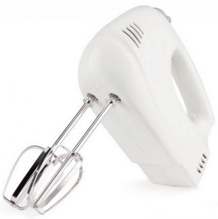 Миксер ручной Zimber ZM-11095 125 Вт белый  миксер ручной zimber zm 11093 100 вт белый серый