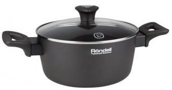 Кастрюля Rondell 586-RDA 20 см 3.6 л алюминий кастрюля 4 3 л rondell walzer rda 766