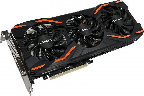 Видеокарта GigaByte GeForce GTX 1080 WINDFORCE OC 8G PCI-E 8192Mb GDDR5X 256 Bit Retail gigabyte j4005n d2p