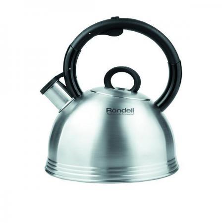 Чайник Rondell RDS-237 2.4 л нержавеющая сталь серебристый