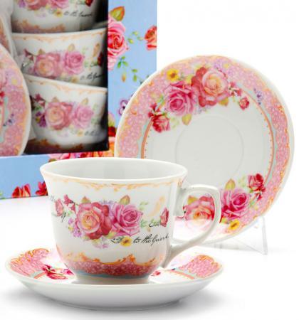 Чайный набор Loraine LR-25781 0.220 л фарфор рисунок
