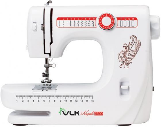 Швейная машина VLK Napoli 2500 белый электромеханическая швейная машина vlk napoli 2100