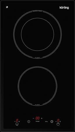 Варочная панель электрическая Korting HK 32033 B черный варочная панель электрическая korting hk 60001 b черный