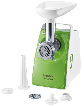 Электромясорубка Bosch MFW3520G 500 Вт белый зеленый bosch bosch 10 zhi отвертка головы set easy успеха зеленый [6949509201188]
