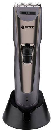 все цены на Машинка для стрижки волос Vitek VT-2572(GR) серый онлайн