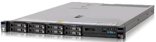 Сервер Lenovo x3550 M5 8869ERG опция lenovo system x 3550 m5 front io cage standard 00mv367