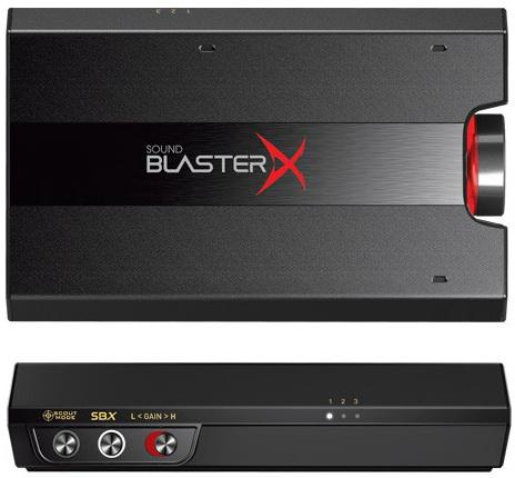 Звуковая карта USB Creative Sound BlasterX G5 7.1 70SB170000000 Retail