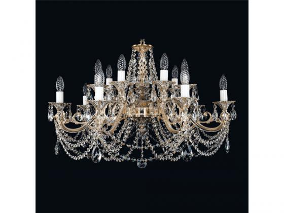 Подвесная люстра Bohemia Ivele 1703/14/320/C/GW bohemia ivele crystal люстра bohemia ivele crystal 1703 10 225 c gw