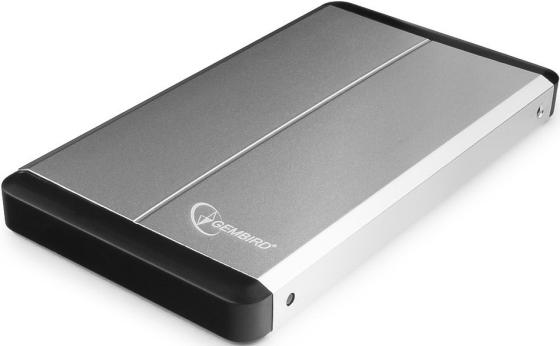 Внешний контейнер для HDD 2.5 SATA Gembird EE2-U3S-2-S USB3.0 серебряный 2 5 sata usb 3 0 hdd enclosure with pouch black silver super speed 5gbps
