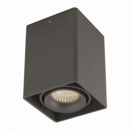 Потолочный светильник Donolux DL18611/01WW-SQ Shiny black накладной светильник donolux dl18611 01ww sq shiny black