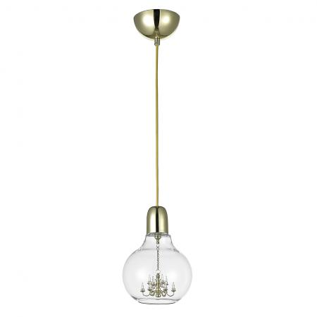 Подвесной светильник Donolux S111007/1gold светильник donolux sa1541 sa1543 alu