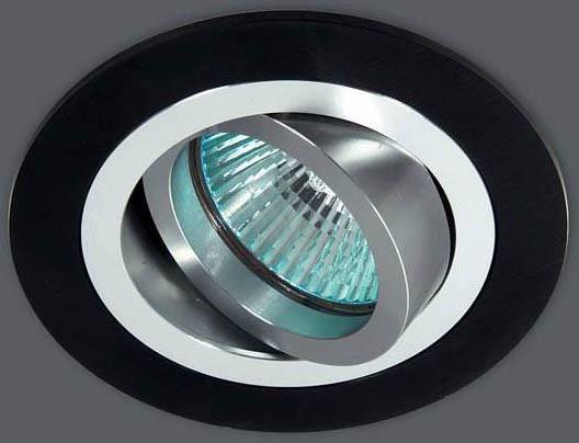 Встраиваемый светильник Donolux A1521-Alu/Black точечный светильник donolux a1521 alu black