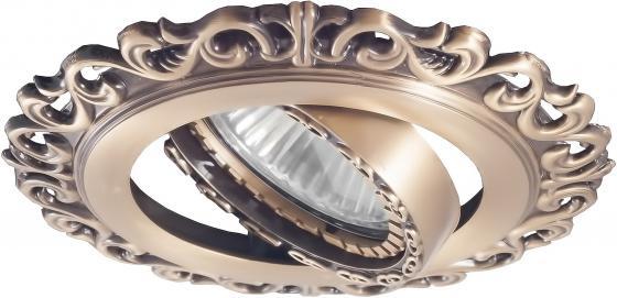 Встраиваемый светильник Donolux A1551-Old Brass встраиваемый светильник donolux a1551 pat silver