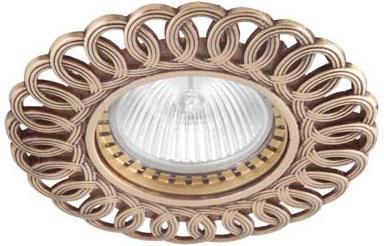 Встраиваемый светильник Donolux N1555-French Gold встраиваемый светильник n1555 old gold donolux