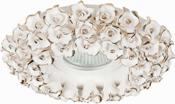 Встраиваемый светильник Donolux N1628-White+gold цена