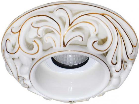 Встраиваемый светильник Donolux N1630-White+gold встраиваемый светильник donolux n1630 white gold