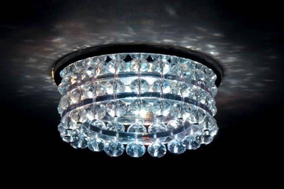 Встраиваемый светильник Donolux DL067.02.1 crystal встраиваемый светильник donolux dl047ch crystal