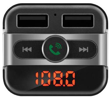 FM трансмиттер Neoline Wave FM microSD BT USB пульт ДУ черный fm трансмиттер neoline rave fm