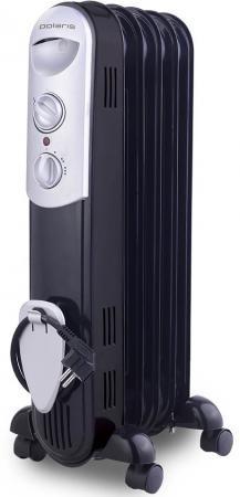 Масляный радиатор Polaris CR 0512B 1200 Вт чёрный сковорода вок биол 32 см
