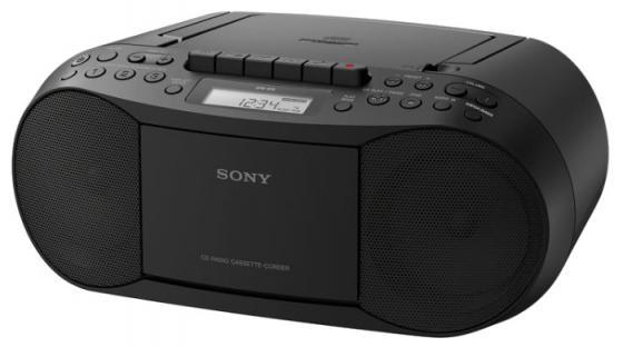 Магнитола Sony CFD-S70 черный наушник sony sbh54 золотой