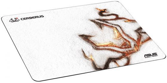 Коврик для мыши Asus Cerberus Arctic черный/белый 90YH00Y1-BAUA00 коврик для мыши asus cerberus arctic белый рисунок [90yh00y1 baua00]