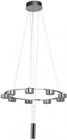 Подвесная светодиодная люстра MW-Light Гэлэкси 10 632014409 потолочная светодиодная люстра mw light гэлэкси 11 632014708