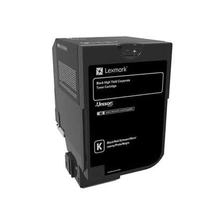 Картридж Lexmark 74C5HKE для CS725de CS720de черный 20000стр картридж lexmark 70c8hke для lexmark cs510 cs410 cs310 черный 4000стр