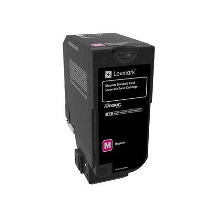 Картридж Lexmark 74C5SME для CX725de CX725dhe CS725de CS720de пурпурный 7000стр compatible toner lexmark c930 c935 printer laser use for lexmark refill toner c940 c945 toner bulk toner powder for lexmark x940