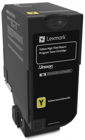 Картридж Lexmark 74C5SYE для CX725de CX725dhe CS725de CS720de желтый 7000стр