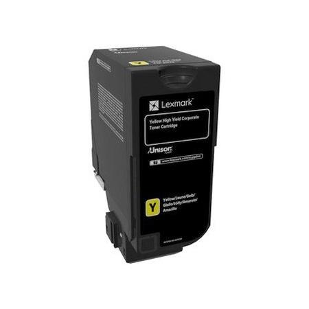 Картридж Lexmark 74C5HYE для CS725de желтый 12000стр compatible toner lexmark c930 c935 printer laser use for lexmark refill toner c940 c945 toner bulk toner powder for lexmark x940
